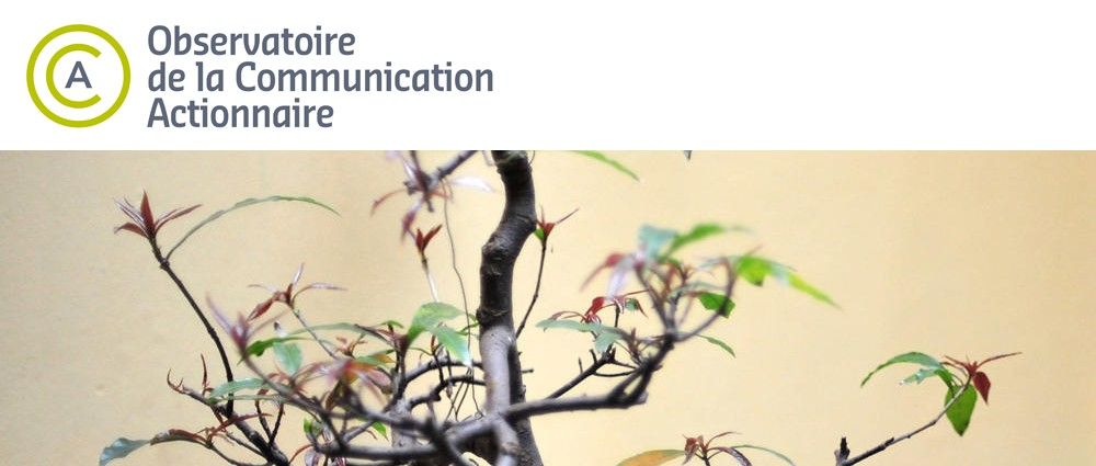 LOGO OBSERVATOIRE DE LA COMMUNICATION ACTIONNAIRE